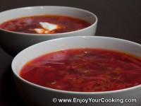 Easier Borscht with Precooked Beets and Beans Recipe