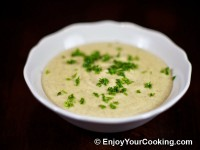 Vegetable Soup-Puree with Mushrooms